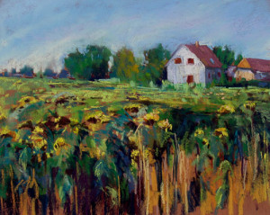 Virginia-Dauth-House-Sunflowers