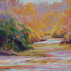 Dauth-Fall-Reflections-16-x-16-Pastel-$400